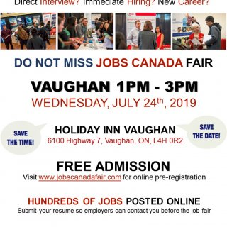 Join us at Jobs Canada Fair in Vaughan!